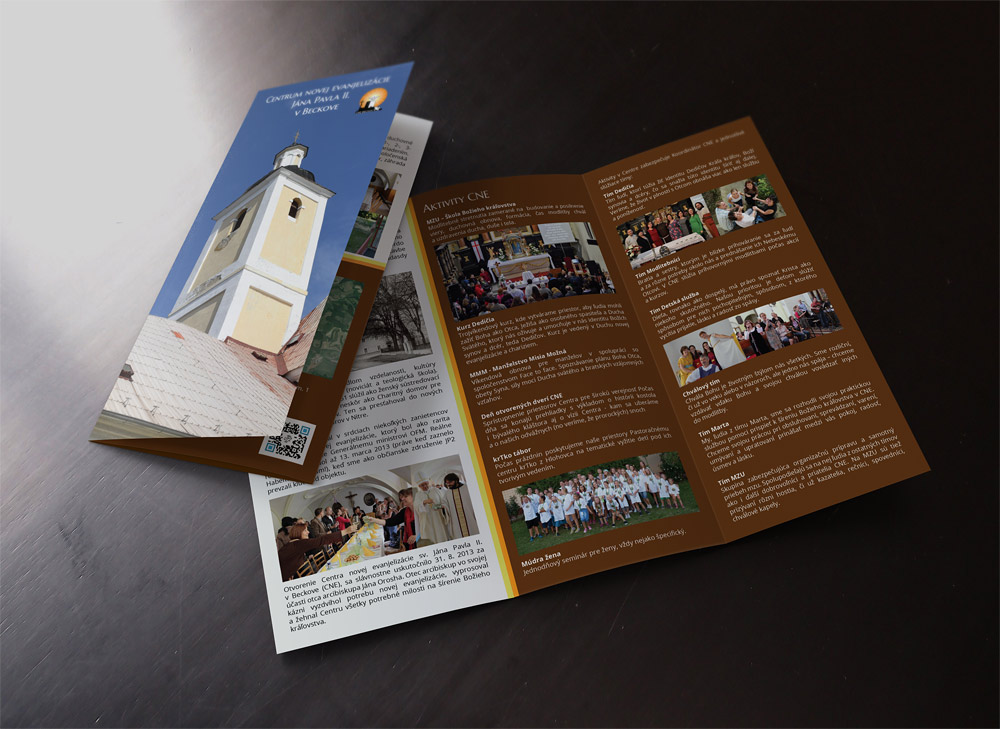 CNE Beckov - brožúra