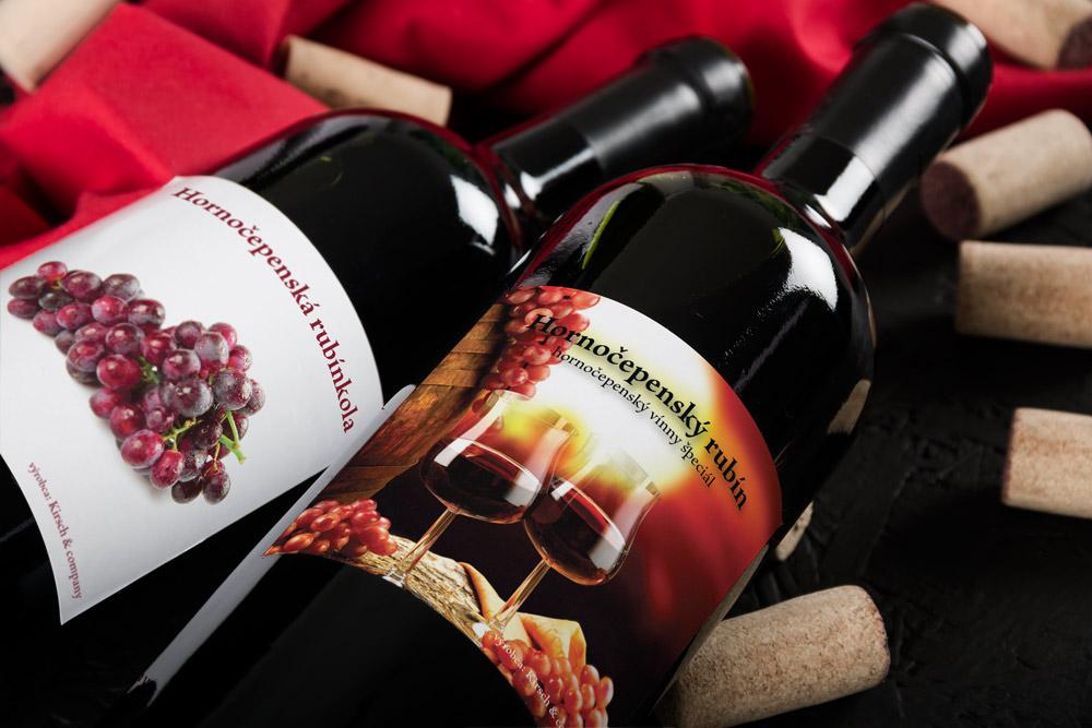 Hornočepenské vína
