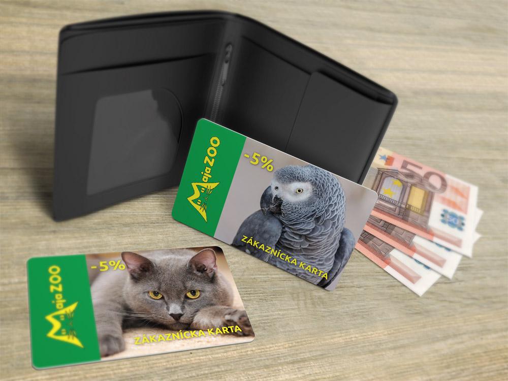 MajaZOO - zákaznícka karta