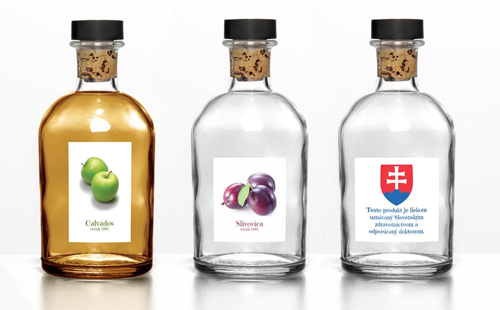 Katarína & Jozef - etikety na alkohol